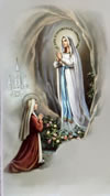 Apparizione della Madonna a Bernardetta Soubiron a Lourdes
